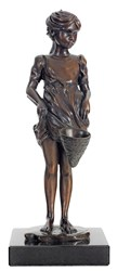 Out to Play by Sherree Valentine Daines - Bronze Sculpture sized 4x10 inches. Available from Whitewall Galleries